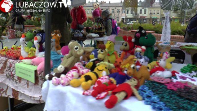 Handel na rynku w Lubaczowie