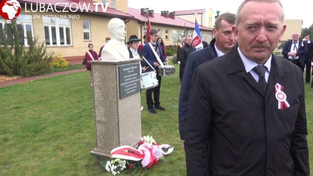 Odsłonięcie Pomnika Konstantego Rojowskiego w Cieszanowie