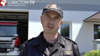Podsumowanie miesiąca maja przez KP PSP w Lubaczowie