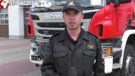Podsumowanie miesiąca czerwca przez KP PSP w Lubaczowie