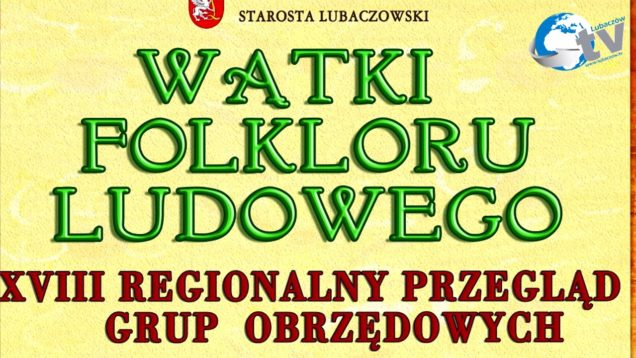 Watki Folkloru Stary Dzików ZAPROSZENIE