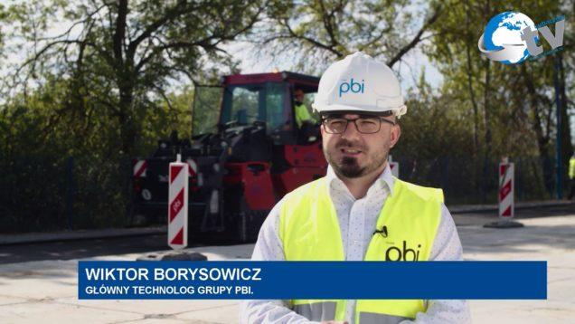 Grupa PBI – testowy odcinek drogi w Oleszycach
