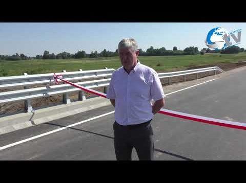 Otwarcie drogi gminnej Cieszanów – Nowe Sioło
