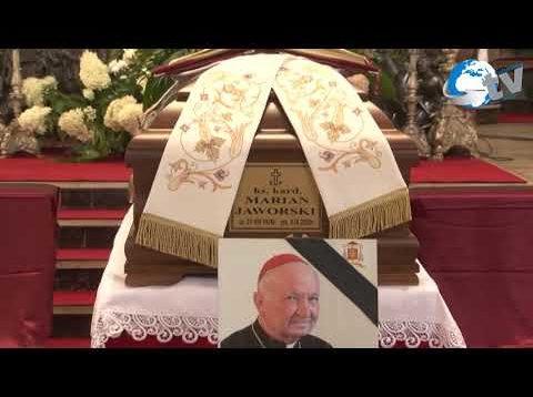 Pożegnanie J E Ks Kardynała Mariana Jaworskiego w Lubaczowie