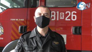 Podsumowanie miesiąca października przez KP PSP w Lubaczowie