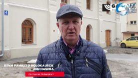 Dzień Pamięci o Holokauście –Zdzisław Zadworny – Burmistrz Cieszanowa