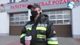 Podsumowanie miesiąca marca przez KP PSP w Lubaczowie